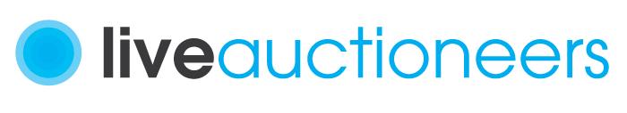 Click LiveAuctioneers logo below to start bidding!